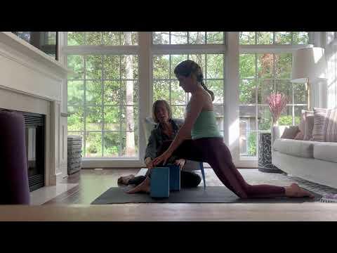 how to use yoga props in yin yoga  tina lanzoni